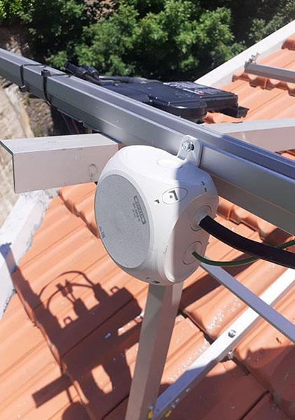 Caixas Enycase DK Hensel nos projetos da EDP fotovoltaico