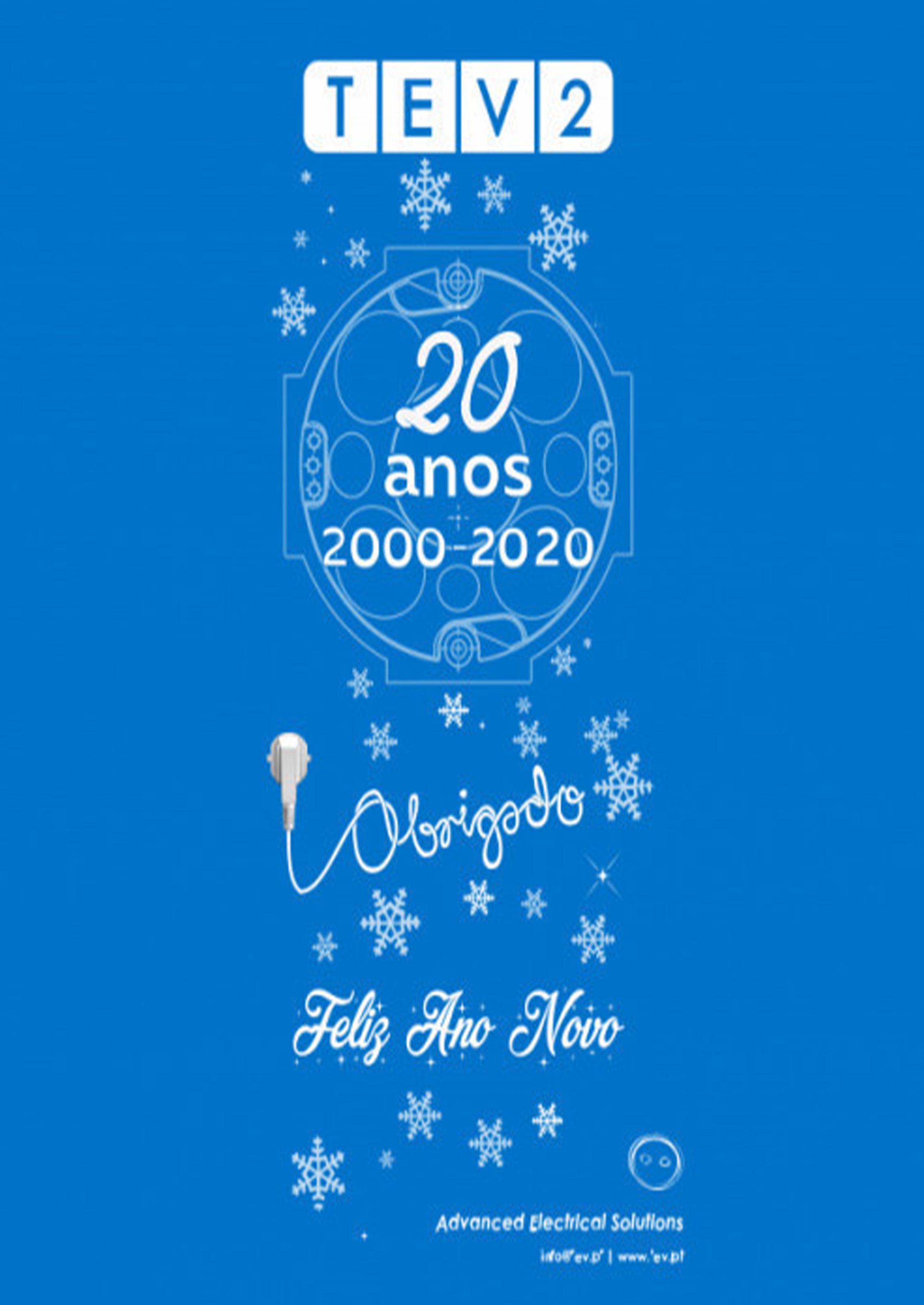 Boas festas! Descarregue o calendário para 2021