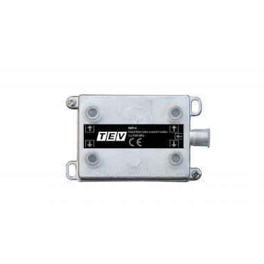 REPARTIDOR CABO COAXIAL 4 SAIDAS  5 A 2400 Mhz