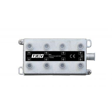 REPARTIDOR CABO COAXIAL 8 SAIDAS  5 A 2400 Mhz